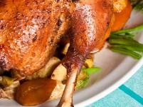 Roast turkey butter rub